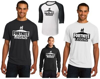 NEW FORTNITE LEGEND T-SHIRT OR HOODIE BATTLE ROYALE VICTORY FORTNIGHT VIDEO GAME