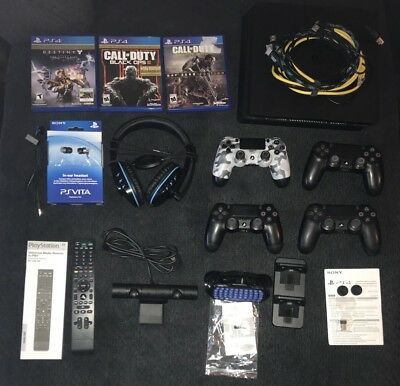 Sony PlayStation 4 Slim PS4 500GB Console HUGE BUNDLE WITH EVERYTHING YOU NEED