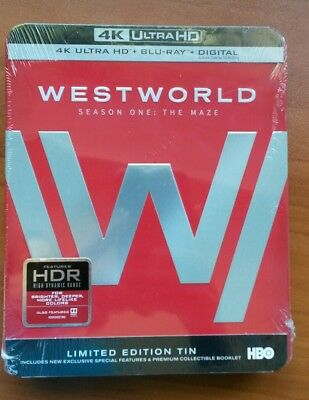 Westworld  STEELBOOK  First Season one The Maze 4k BRDigital SEE DETAIL