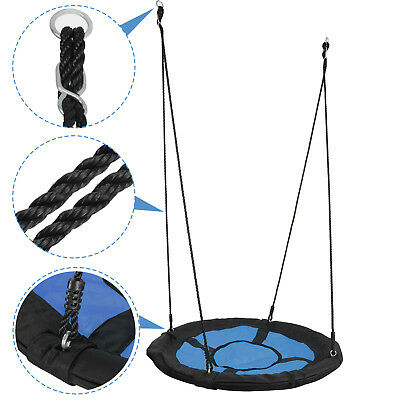 40 FUN Saucer Tree Web Swing 440LBs Durable Steel Frame Large Platform EZ Setup