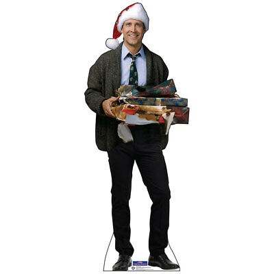 CLARK GRISWOLD Christmas Vacation CARDBOARD CUTOUT Standup Standee Poster Chevy
