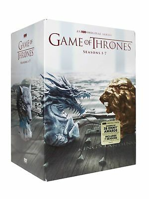 Game of Thrones The Complete Seasons 1-7 DVD 2017