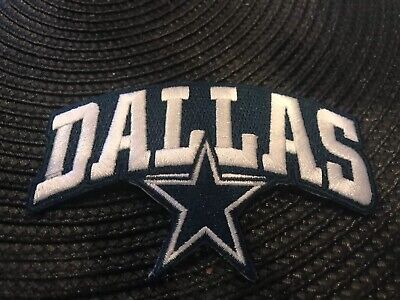 Dallas Cowboys vintage embroidered iron on  Patch  Vintage 4 X 2-5