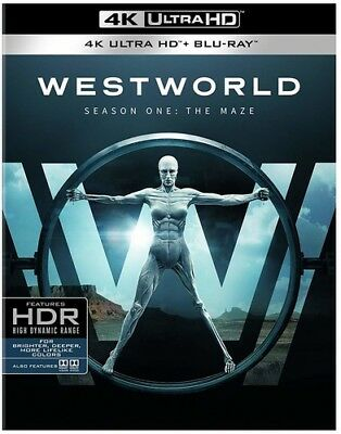 Westworld The Complete First Season New 4K UHD Blu-ray