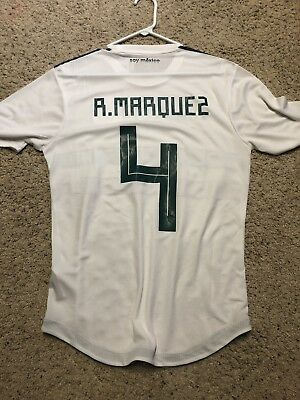New Adidas Mexico Rafa Marquez Away Jersey 2018 World Cup Authentic