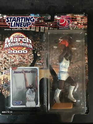 2000 JAMES WORTHY NCAA March Madness North Carolina Collectable