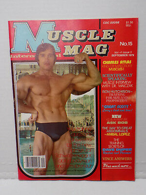 September 1979 Issue Muscle Mag International - Arnold Schwarzenegger