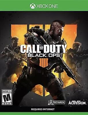 Call of Duty Black Ops 4 Xbox One BRAND NEW