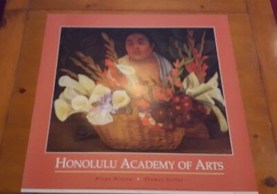 Diego Rivera Flower Seller 1992 Honolulu Academy of Arts Museum Poster Haddads