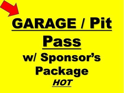 DAYTONA 2019 - NASCAR Team Package-Race Week Hot Garage Pits Decal and more