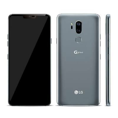 LG G7 ThinQ 64GB Smartphone Factory Unlocked - Platinum Grey 1010