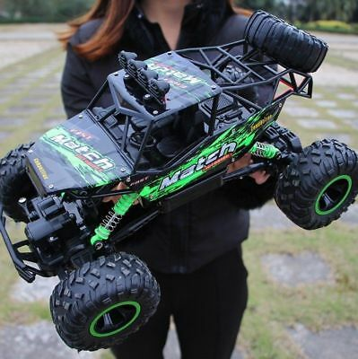 US RC Car 112 4WD 2-4G Radio Control Monster Truck Buggy Off-Road Toy Electric