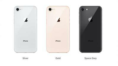 Apple iPhone 8 Software Unlocked GSM SmartPhone 64GB 256Gb AT-T T-mobile