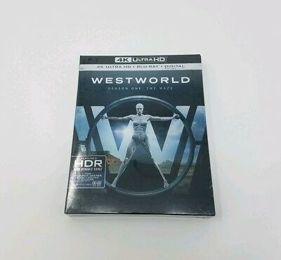Westworld The Complete First Season The Maze 4K Ultra HDBD Blu-ray