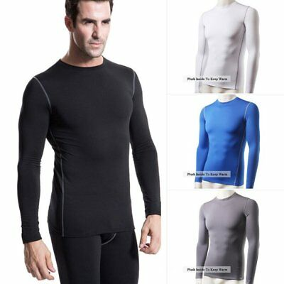 Mens Winter Thermal Wear Tops Underwear Base Layer Warm John Blouses US