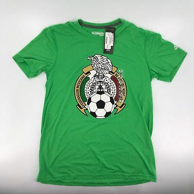 Adidas Mexico International Soccer Team Gift T-Shirt Tee Russia World Cup S L