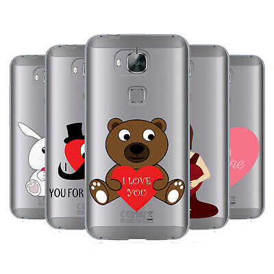 OFFICIAL PLDESIGN LOVE AND HOPE SOFT GEL CASE FOR HUAWEI PHONES 2