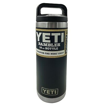Brand New YETI Rambler 18 OZ Stainless Steel Bottle - Red Navy Seafoam - Genuine