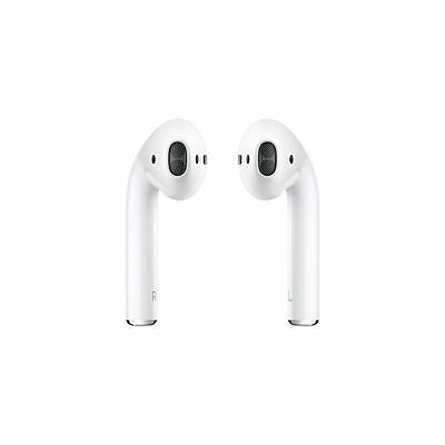 New Apple AirPods - White MMEF2AMA Genuine Airpod Retail Box Sealed- Ships Fast