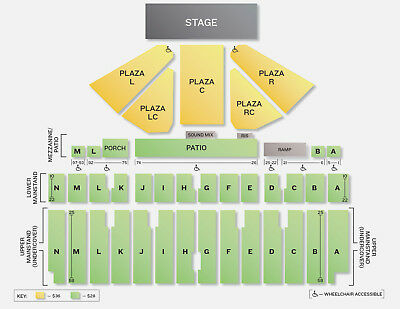 1-8 Hootie and the Blowfish tickets Minnesota State Fair Floor Center row 5 822