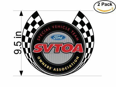 Svtoa 2 Stickers 9-5 inches Sticker Decal