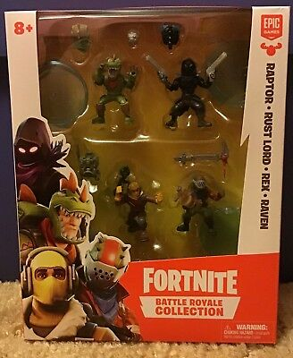 Fortnite Battle Royale Collection Mini Action Figures Squad Pack NEW MISB