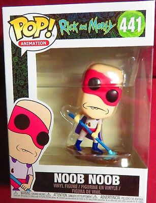 BRAND NEW POP ANIMATION RICK AND MORTY 441 NOOB NOOB FIGURE
