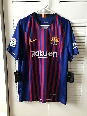 Nike FC Barcelona 201819 Home Jersey SIZE L WITH TAGS-