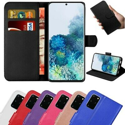 Case for Samsung Galaxy S21 S20 S10 S9 Plus Cover Wallet Leather Magnetic Luxury