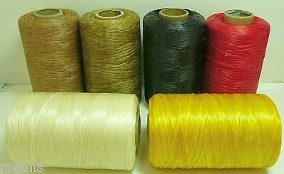 artificial SINEW Sinue wax thread beading crafts beadwork fringe loom weave dye