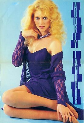 Audrey Landers Wearing Her Blond Hair 8x10 Photo Picture Print