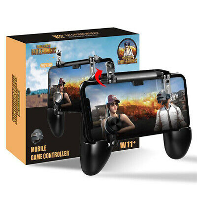 W11 Mobile Phone Game Controller Gamepad Joystick Fire Trigger For PUBG Fortnite