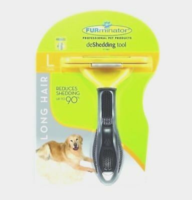 FURMINATOR DESHEDDING TOOL For Large Dog 51-90 Lbs With Long Hair Brand NEW