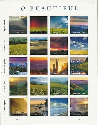 1 SHEET 5298 FOREVER O BEAUTIFUL- BIN 15-00- FREE DELIVERY