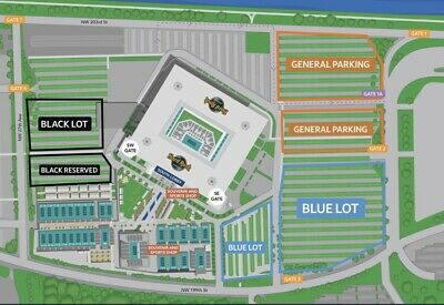 2 Miami Open Tickets Session 10 Covered Sec 248 Row 9 seat 1314 W Parking Pass