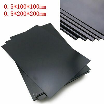 ABS Plastic Sheet Decoration DIY Craft Flat Plate 200x200x0-5mm100x100x0-5mm