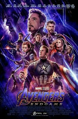 AVENGERS ENDGAME 27x40 ORIGINAL FINAL DS DS MOVIE POSTER ONE SHEET Theatrical
