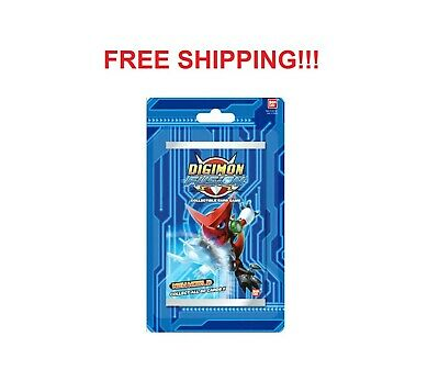 2013 Bandai Digimon Fusion New World CCG SINGLE Booster Packs SEALED