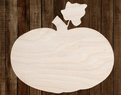 Pumpkin Fall Unfinished Wood Cutout Cut Out Shapes Painting Crafts ALL SIZES