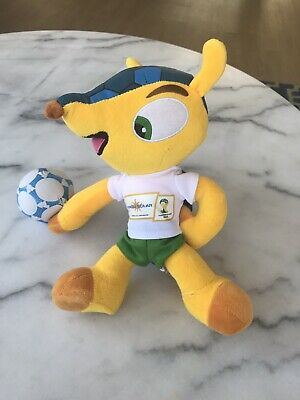 FIFA World Cup 2014 Brazil Mascot Official Licensed 9 Plush Stuffed Toy