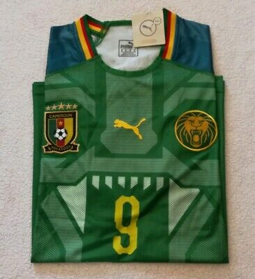 Cameroon Etoo Jersey World Cup 2018 Lion XL