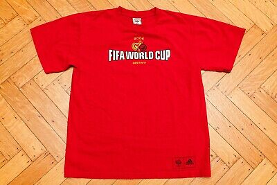 Vintage 2006 FIFA World Cup from Germany T-Shirt by Adidas Adult Men Medium