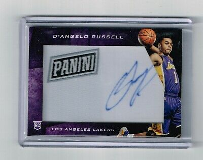 2015 CYBER MONDAY DANGELO RUSSELL LAKERS AUTOGRAPH SP ROOKIE CARDDR