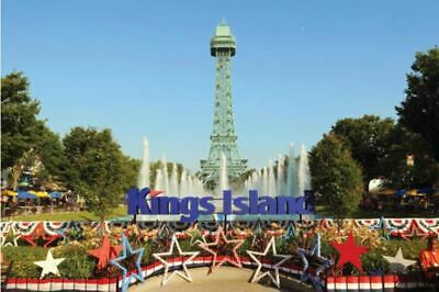 4 Kings Island General Admission Tickets  Mason OH