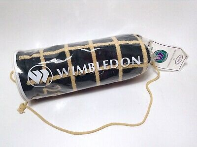 2001 Wimbledon Tennis Championships Towel Christy NEW In Carrying Bag Green