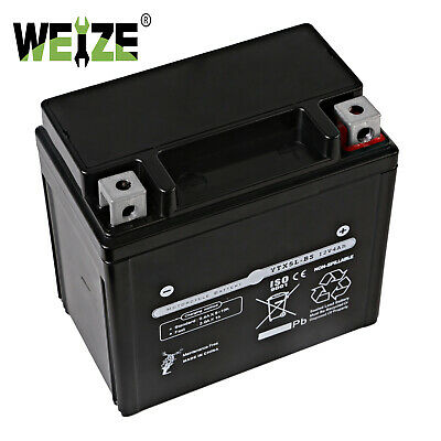 YTX5L-BS High Performance - Maintenance Free-Sealed AGM Motorcycle ETX5L Battery