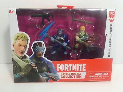 Fortnite Battle Royale Collection Carbide Sergeant Jonesy 2 Pack Action Figures