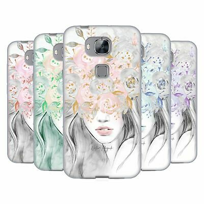 NATURE MAGICK GIRL WITH FLOWERS IN HER HAIR SOFT GEL CASE FOR HUAWEI PHONES 2