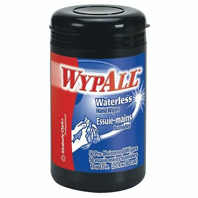Wypall® Heavy-Duty Waterless Hand Wipes Orange Scent 12 x 10 12 Tub Of 50