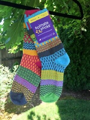Solmate Mismatched Socks Assorted Designs Unisex S - XL New wTags